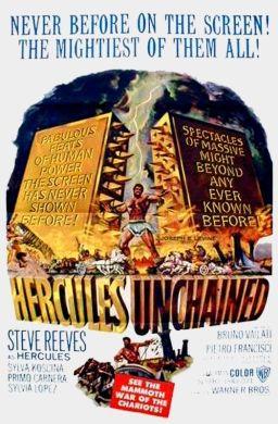 Hercules Unchained (1959) Steve Reeves