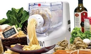 Groupon - Ronco Electric Pasta Maker and Drying Rack in [missing {{location}} value]. Groupon deal price: $89.99