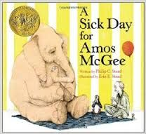 Friends come in all sorts of shapes and sizes. In Amos McGee's case, all sorts of species, too! Every day he spends a little bit of time with each of his friends at the zoo, running races with the tortoise, keeping the shy penguin company, and even reading bedtime stories to the owl. But when Amos is too sick to make it to the zoo, his animal friends decide it's time they returned the favor.