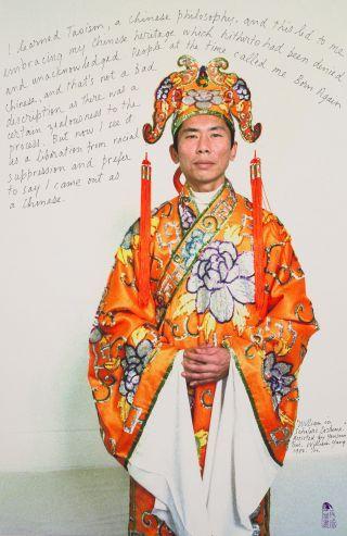 William Yang, William in Chinese costume 1984 2