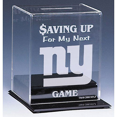 want to buy this for our little man's room. Casework New York Giants Team Bank - NFLShop.com