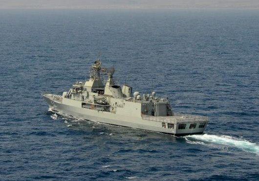 Royal Australian Navy frigate HMAS Anzac (III). Complement of 191.