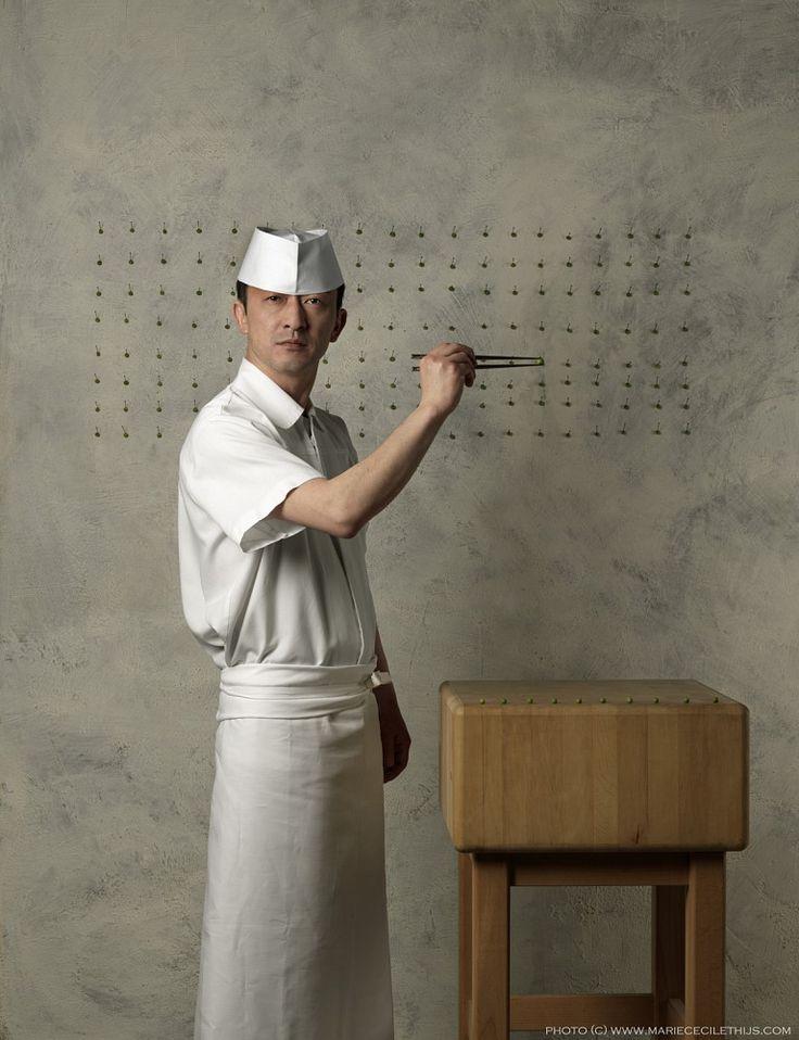 Cook Masanori Tomikawa | Restaurant Yamazato Restaurant Okura Hotel - Marie Cecile Thijs