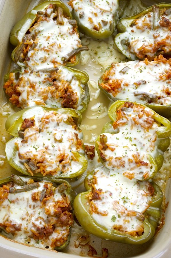 Sausage Stuffed Peppers