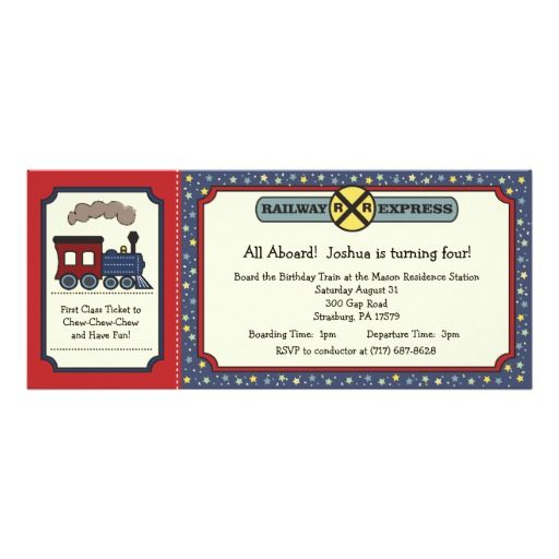 best images about train birthday party invitations on, party invitations