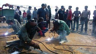 FKKMP Buka Kesempatan Pemuda Di Daerah Untuk Jadi Tenaga Handal Di Bidang Pengelasan Kapal Baja