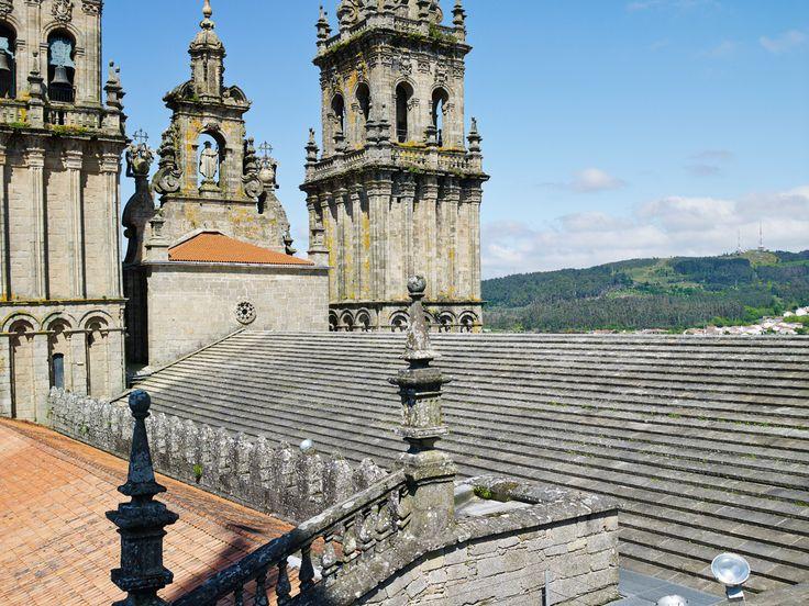Visita a las cubiertas de la Catedral de Santiago con Viajes Viloria y Galicia Incoming