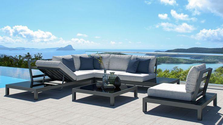 Lounge Group Valentino L Garden Garden Group Lounge Valentino Garden Sofa Set Stylish Sofa Sets Outdoor Furniture Sets