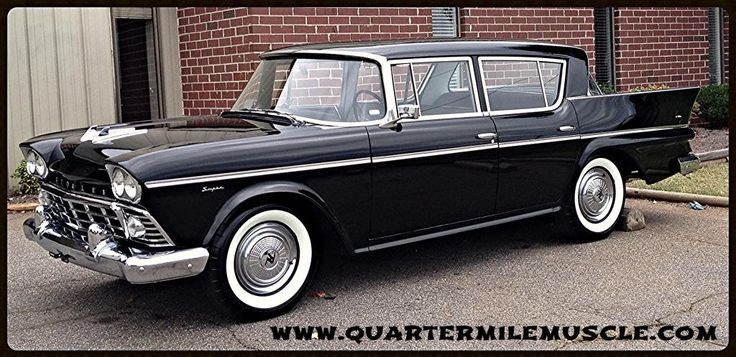 1958 Rambler Super 4-Door Sedan