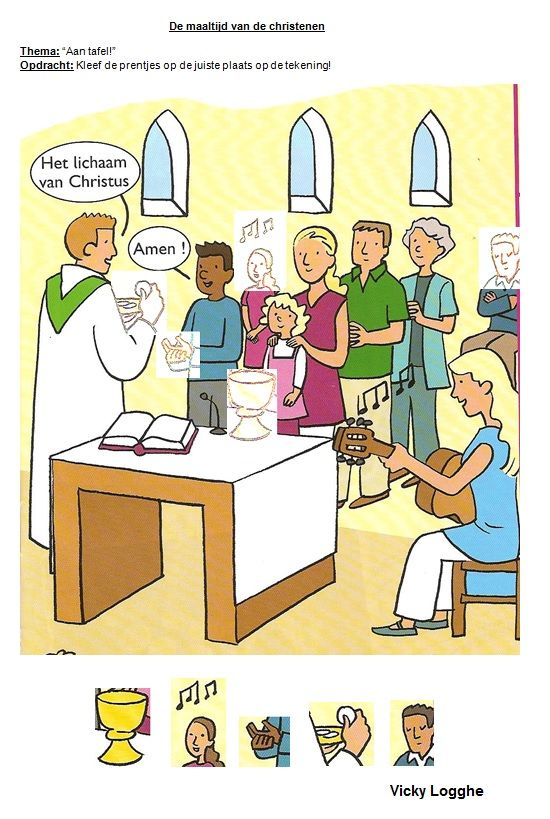 De maaltijd van de christenen