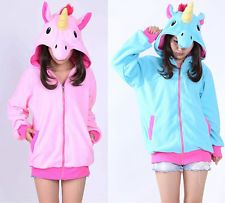Kigurumi Pajamas Anime Cosplay Unicorn Costume Hoodies Adult Onesie Fancy Dress