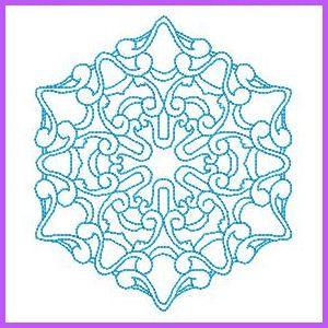 Quilt Swirls 5 - Free Instant Machine Embroidery Designs