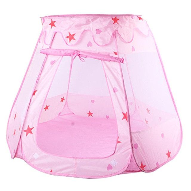 Large Princess Play Tent for Kids Toy Play House Kids Toys Outdoor Child Tent for ChildrenToy Gift