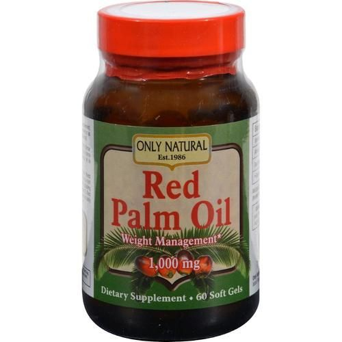 Only Natural Red Palm Oil - 1000 Mg - 60 Ct