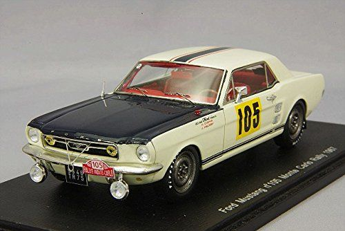 ☆ スパーク 1/43 フォード マスタング 1967 モンテカルロ ラリー #105 H.Chemin / J.Hallyday スパーク http://www.amazon.co.jp/dp/B00OUR0C0C/ref=cm_sw_r_pi_dp_5W6tub0PCHCDY