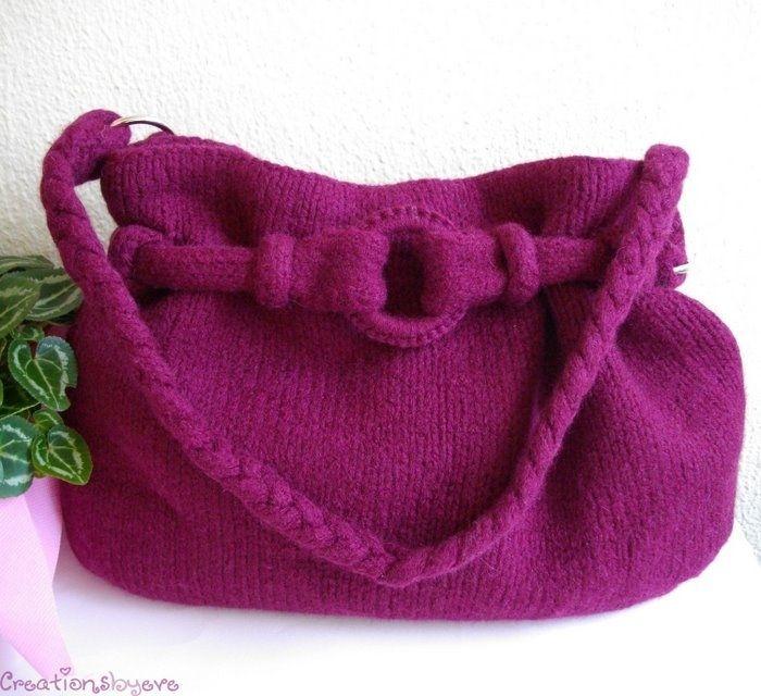 violet bag