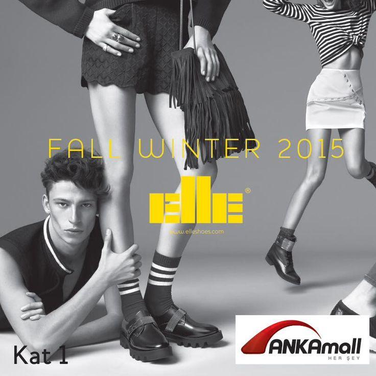 Yeni sezon ayakkabıları ile #ElleShoes çok yakında #ANKAmall 'da açılıyor!