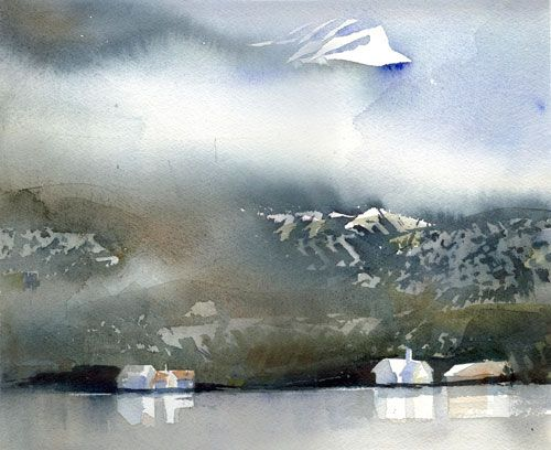 Lena Amstrand. LOVE love love her watercolors!