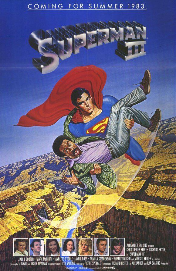 Superman 3 11x17 Movie Poster (1983)