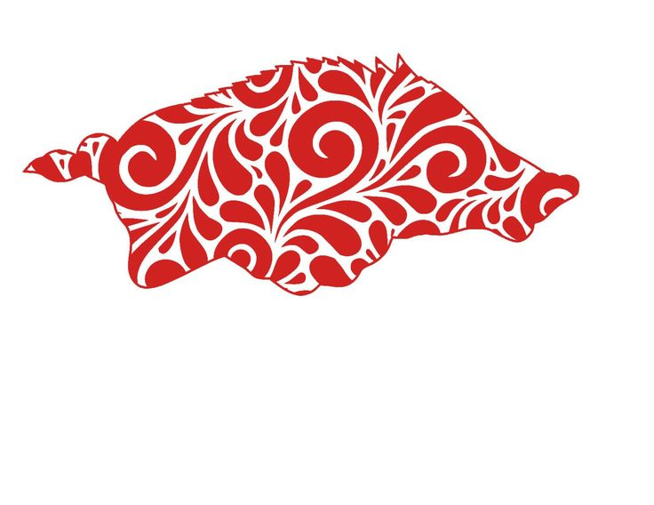 Swirl Razorback Arizona Football SVG, DXF, or Silhouette Instant Download by MandaNoelle on Etsy https://www.etsy.com/listing/454688848/swirl-razorback-arizona-football-svg-dxf