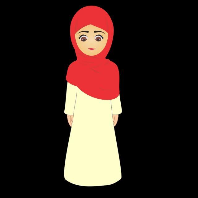 فتاة مسلمة صغيرة مع ناقلات الحجاب مسلم اسلامية دين الاسلام Png صورة للتحميل مجانا Muslim Girls Disney Princess Girl
