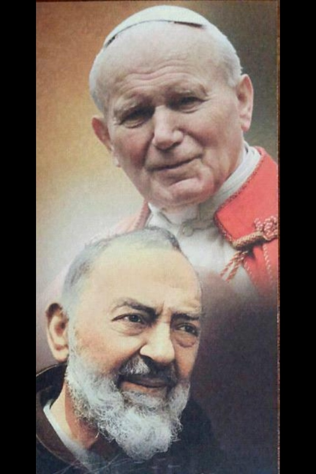 Padre Pio and JP II