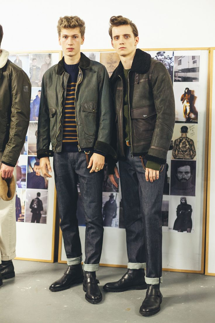 Belstaff FW17 Backstage! - Fucking Young!