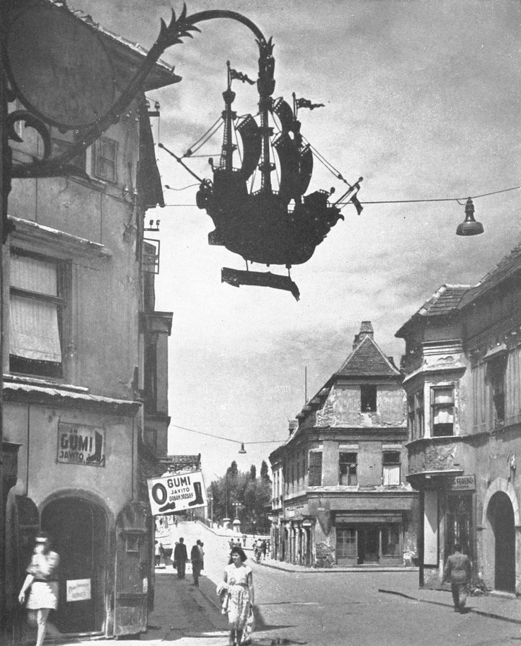 Gyor in the past