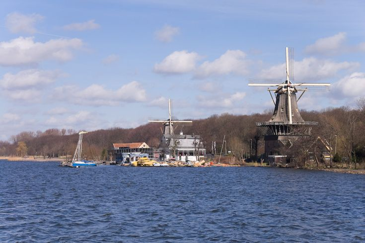 Aan de Kralingse Plas staan de molens De Ster en De Lelie en dit zijn de enige nog werkende snuif- en specerijenmolens in Nederland.