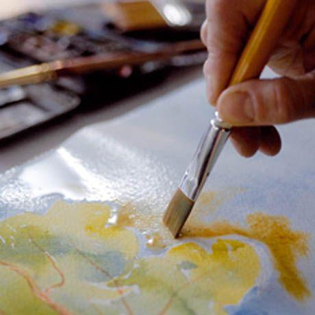 Les notions de base pour peindre à l'aquarelle | L'atelier Canson