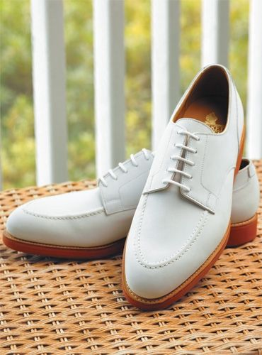 These Onslow Welted Bluchers would go perfectly with a blue searsucker suit.