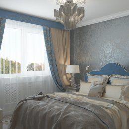 Студия LESH | Изысканная спальня в классическом стиле