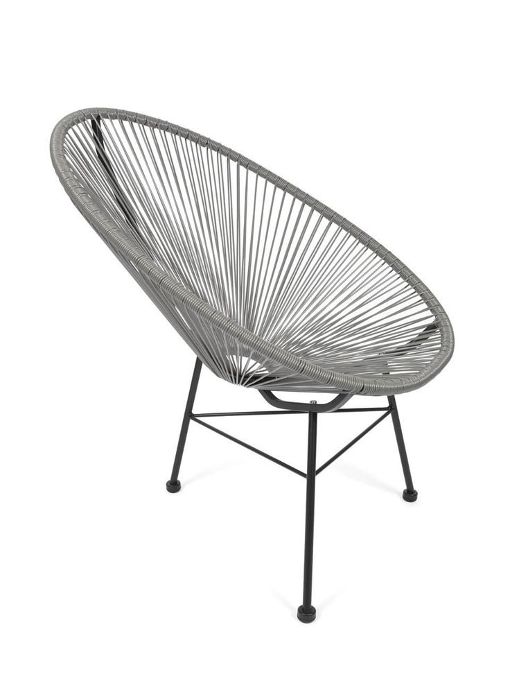 Acapulco Stuhl, Chair, Sessel, Grau   Design Klassiker In Möbel U0026 Wohnen,