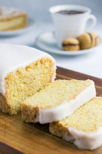 Iced Lemon Cake (vegan)