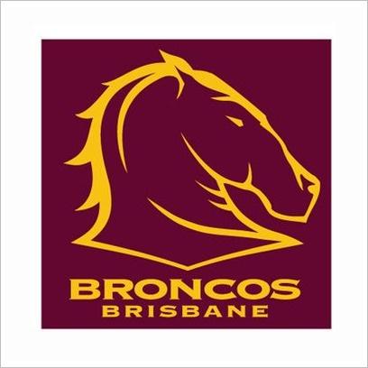 NRL Broncos Face Washer (Pack of 2) C A Australia