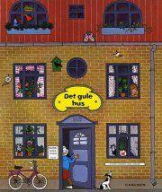 det gule hus - bog