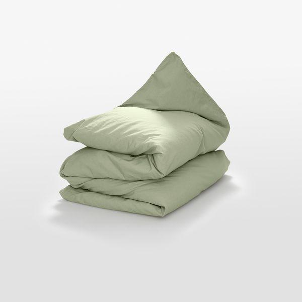 erlich textil Madita – Bettdeckenbezug Aus 80% Baumwolle Und 20% Leinen