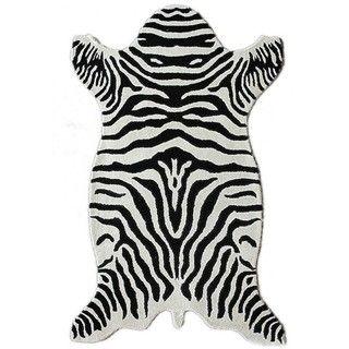 Perfect Animal Shaped Zebra Rug $237.99