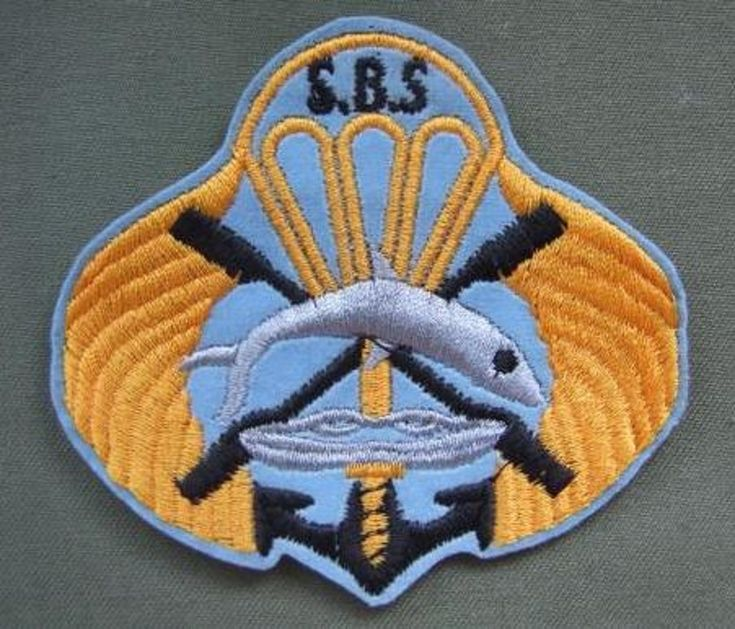 Iran Navy Commandos SBS Shoulder Patch the patch is in mint condition...