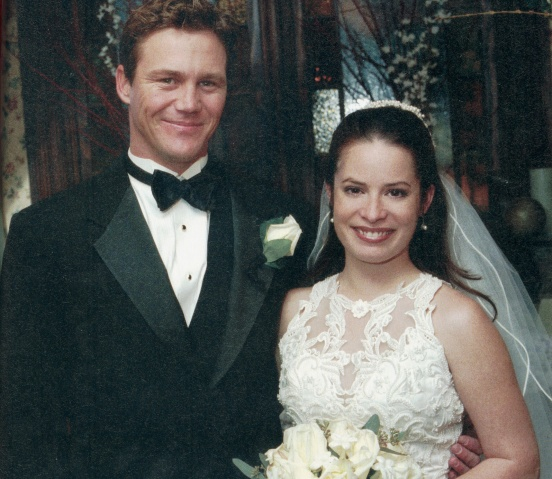 Piper and Leo from Charmed