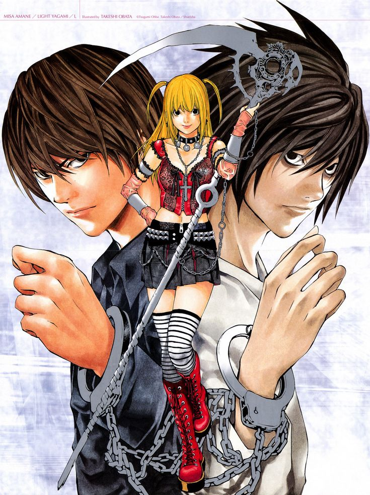 Death Note. Eventually I will get my hands on more than just the first volume of this...