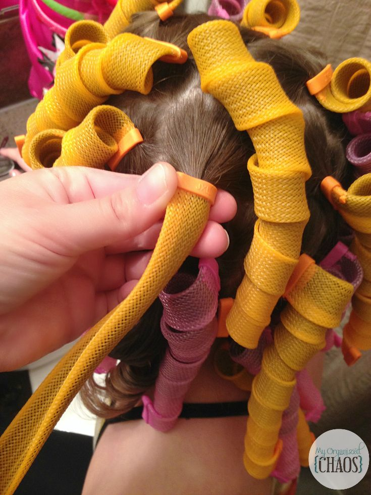 How to take out curl formers hair curlers perfect curls
