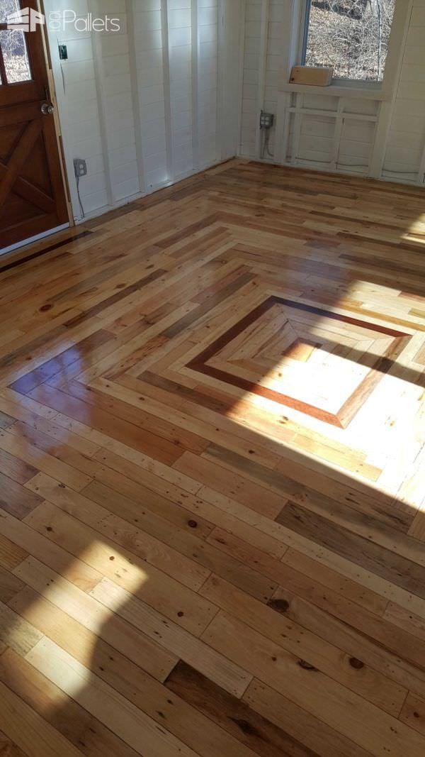 Best 25 Pallet Floors Ideas On Pinterest Pallet Decking