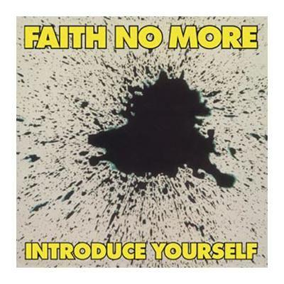 """L'album dei #FaithNoMore intitolato """"Introduce Yourself"""" su vinile."""