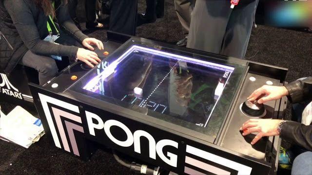 Atari Pongu00ae Table Atari Pong Coffee Table Video Arcade Game
