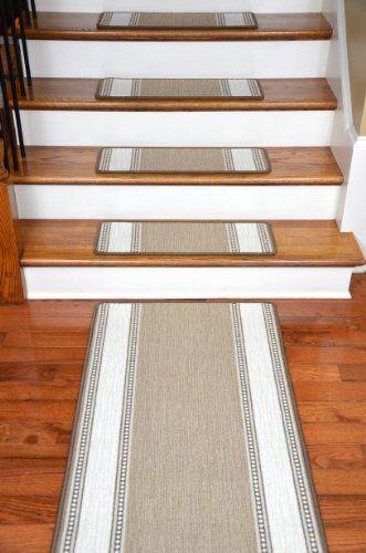 Dean Premium Nylon Carpet Stair Treads - Arden Ashwood (13) Plus a Matching 5' Runner Dean Flooring Company,http://www.amazon.com/dp/B00AW07LBE/ref=cm_sw_r_pi_dp_R3Crtb1KWBV9AC3W
