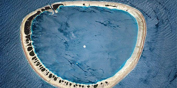 Η απίστευτη ομορφιά της Γης… από ψηλά! Νησάκι στα ανοιχτά του Καναδά