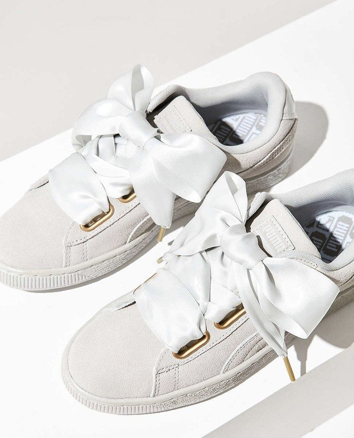 Get a head start on your shopping this Spring with a pair of fresh white shoes.