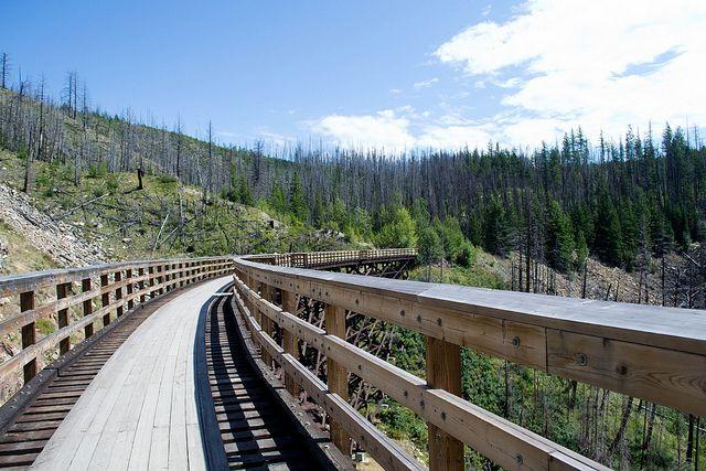 Exploring the Myra Canyon Trestle Bridges #Kelowna #BC #Canada