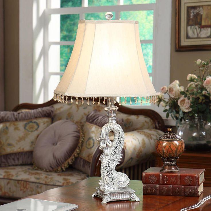Современные Смолы настольная лампа abajur de mesa lamparas европа краткое Сильвен Рыбы прикроватная лампа abajur сала Освещение Стекло лампы краткое купить на AliExpress